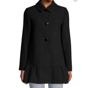 Brand New Kate Spade Flounce Coat